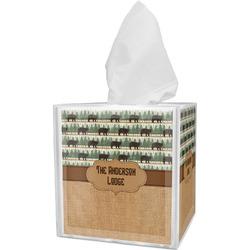 Cabin Tissue Box Cover (Personalized)