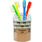 Cabin Toothbrush Holder (Personalized)