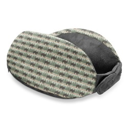 Cabin Travel Neck Pillow (Personalized)