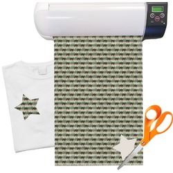 "Cabin Heat Transfer Vinyl Sheet (12""x18"")"