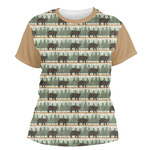 Cabin Women's Crew T-Shirt (Personalized)
