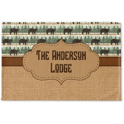 Cabin Woven Mat (Personalized)