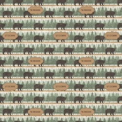 Cabin Wrapping Paper (Personalized)