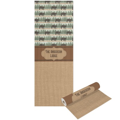 Cabin Yoga Mat - Printable Front and Back (Personalized)