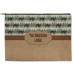 Cabin Zipper Pouch (Personalized)