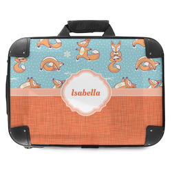 Foxy Yoga Hard Shell Briefcase (Personalized)