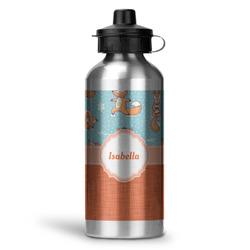 Foxy Yoga Water Bottle - Aluminum - 20 oz (Personalized)