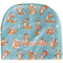Foxy Yoga Baby Hat (Beanie) (Personalized)