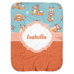 Foxy Yoga Baby Swaddling Blanket (Personalized)