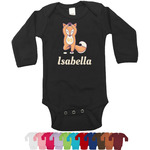 Foxy Yoga Long Sleeves Bodysuit - 12 Colors (Personalized)