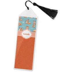 Foxy Yoga Book Mark w/Tassel (Personalized)