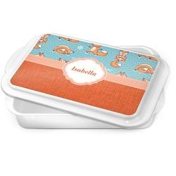 Foxy Yoga Cake Pan (Personalized)