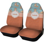 Foxy Yoga Car Seat Covers (Set of Two) (Personalized)