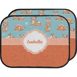 Foxy Yoga Car Floor Mats (Back Seat) (Personalized)