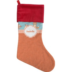 Foxy Yoga Christmas Stocking (Personalized)
