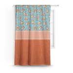 Foxy Yoga Curtain (Personalized)