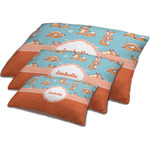 Foxy Yoga Dog Bed w/ Name or Text