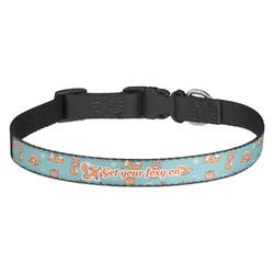 Foxy Yoga Dog Collar - Multiple Sizes (Personalized)