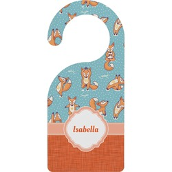 Foxy Yoga Door Hanger (Personalized)