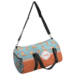 Foxy Yoga Duffel Bag (Personalized)
