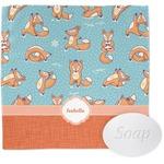 Foxy Yoga Wash Cloth (Personalized)