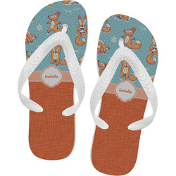 Foxy Yoga Flip Flops (Personalized)