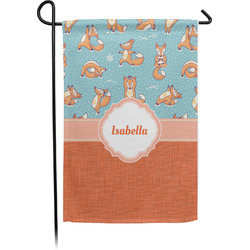 Foxy Yoga Garden Flag - Single or Double Sided (Personalized)