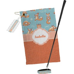 Foxy Yoga Golf Towel Gift Set (Personalized)