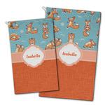 Foxy Yoga Golf Towel - Full Print w/ Name or Text