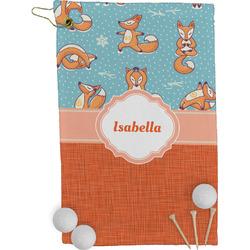 Foxy Yoga Golf Towel - Full Print (Personalized)