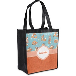 Foxy Yoga Grocery Bag (Personalized)