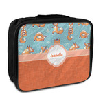 Foxy Yoga Insulated Lunch Bag (Personalized)