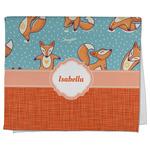 Foxy Yoga Kitchen Towel - Full Print (Personalized)