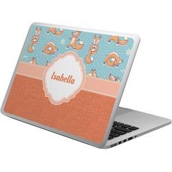Foxy Yoga Laptop Skin - Custom Sized (Personalized)