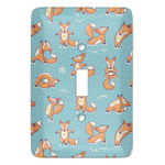 Foxy Yoga Light Switch Covers (Personalized)