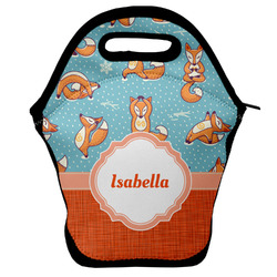 Foxy Yoga Lunch Bag (Personalized)