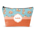 "Foxy Yoga Makeup Bag - Large - 12.5""x7"" (Personalized)"
