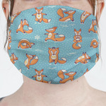 Foxy Yoga Face Mask Cover (Personalized)