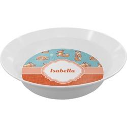 Foxy Yoga Melamine Bowls (Personalized)