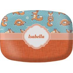 Foxy Yoga Melamine Platter (Personalized)