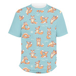 Foxy Yoga Men's Crew T-Shirt (Personalized)
