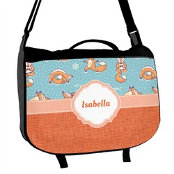 Foxy Yoga Messenger Bag (Personalized)