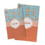 Foxy Yoga Microfiber Golf Towel (Personalized)