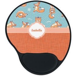 Foxy Yoga Mouse Pad with Wrist Support