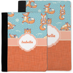 Foxy Yoga Notebook Padfolio w/ Name or Text