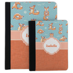 Foxy Yoga Padfolio Clipboard (Personalized)