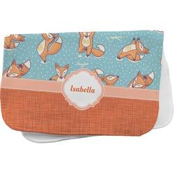 Foxy Yoga Burp Cloth (Personalized)