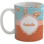 Foxy Yoga Coffee Mug (Personalized)