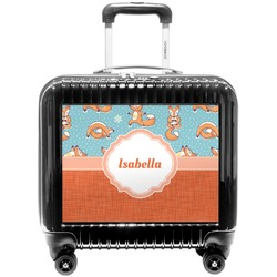 Foxy Yoga Pilot / Flight Suitcase (Personalized)