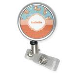 Foxy Yoga Retractable Badge Reel (Personalized)